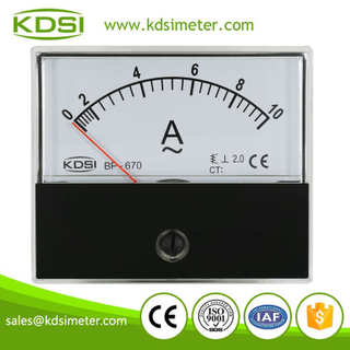 KDSI electronic apparatus BP-670 AC10A ac analog ac amp panel meter