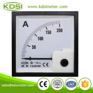 Factory direct sales BE-80 DC10V 200A analog amp current panel meter