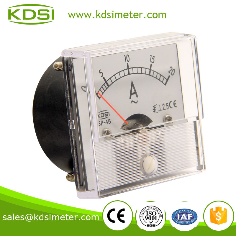 KDSI electronic apparatus BP-45 AC20A ampere meter ac