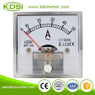 Factory direct sales BP-45 AC50/5A analog voltage and current meter panel meter
