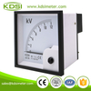 Easy installation BE-96 AC12kV 11kV-110V rectifier analog ac din rail voltmeter
