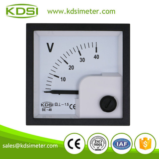 20 years Professional Manufacturer BE-48 DC40V analog dc panel voltage meter