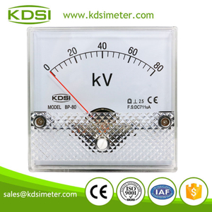 Original manufacturer high Quality BP-80 BP-80 DC711uA 80kV dc amp panel mount voltmeter