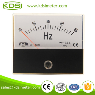 BP-670 Frequency meter 45-65HZ 100V Industrial universal analog meter