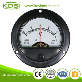 High quality professional BO-52 DC+-30V dc panel mount voltmeter