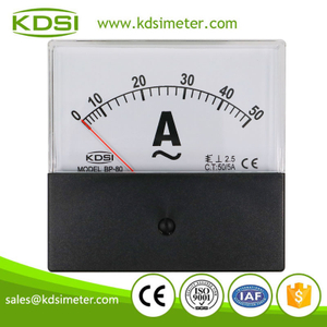 Hot Selling Good Quality BP-80 AC50/5A analog ac ammeter for welding machine