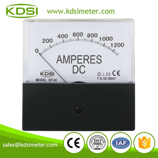High quality professional BP-80 DC50mV 1300A analog dc amp panel welding electric meters