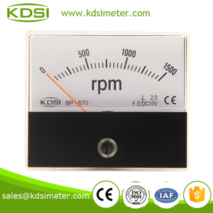 BP-670 RPM meter DC10V 1500RPM taiwan technology panel meter,tachometer
