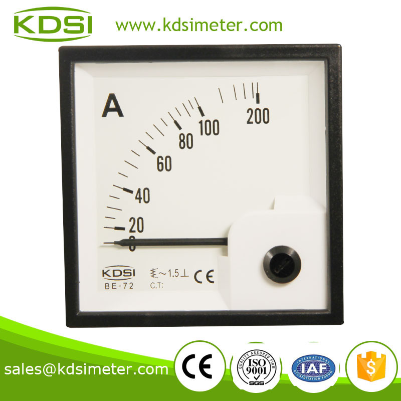 Classical BE-72 AC100A current meter