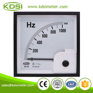 Hot Selling Good Quality BE-96 DC1mA 1000Hz analog panel dc ampere Hz meter