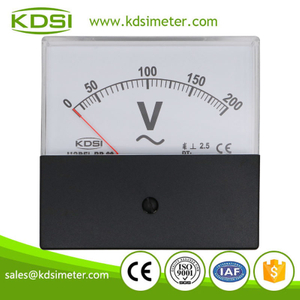 20 Year Top Manufacturer of CE,ISO passed BP-80 AC200V black cover analog ac high voltage panel meter