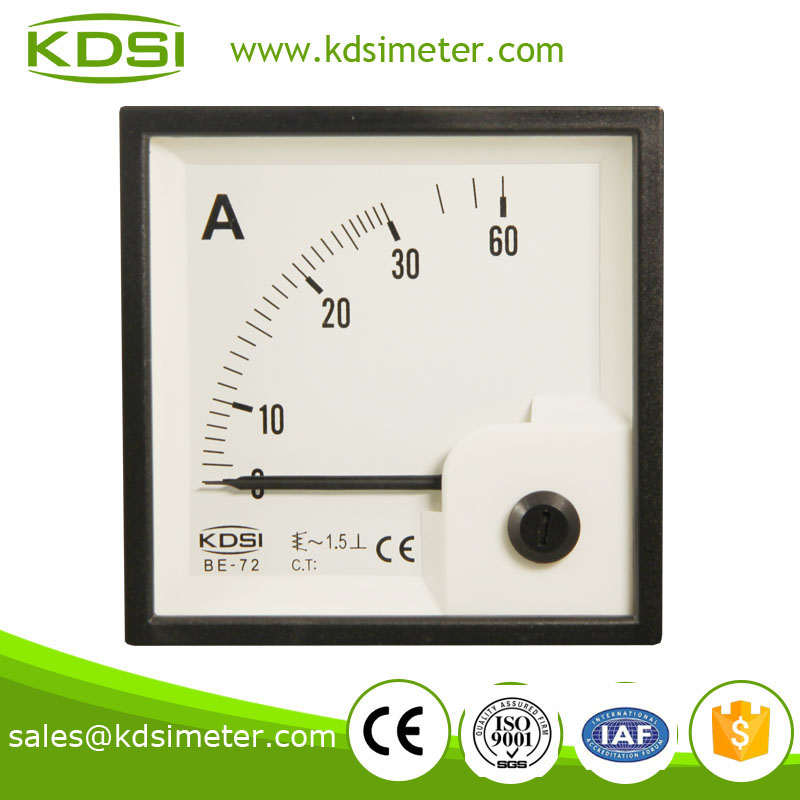Factory direct sales BE-72 AC30A auto ammeter