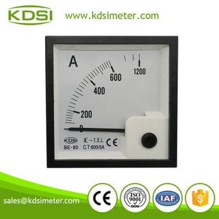 Easy installation BE-80 AC600/ 5A ammeter with output