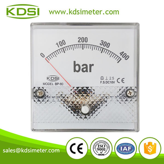 Original manufaturer Best Quality BP-80 DC10V 400bar voltage pressure gauge