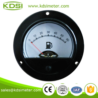 KDSI electronic apparatus BO-52 DC5V 0-60 52mm gauge fuel gauge