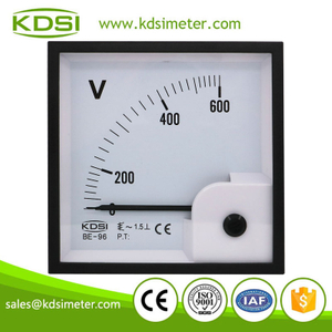Hot Selling Good Quality BE-96 AC600V analog ac panel voltage meter
