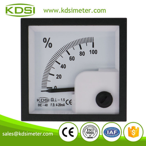 High quality professional BE-48 DC4-20mA 100% panel analog mini dc amp load meter