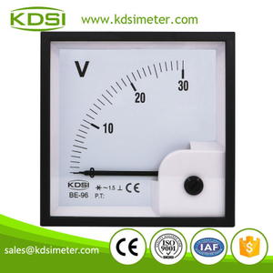 Easy installation BE-96 AC30V rectifier analog ac panel voltage meter