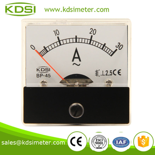 Easy operation BP-45 Analog Current Panel Meter AC 30A AMP Ammeter