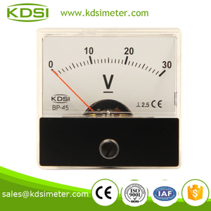 High quality BP-45 DC30V mini dc voltmeter