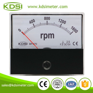 Factory direct sales BP-670 DC10V 1600RPM analog panel engine rpm tachometer