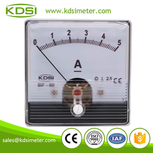 Hot sales BP-60N DC5A analog panel dc ampere indicator for welding machine