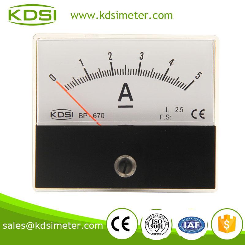 BP-670 DC Ammeter DC5A
