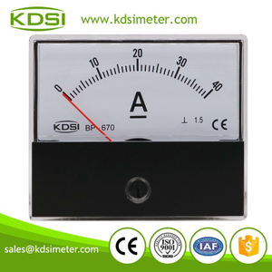 China Supplier BP-670 DC40A panel analog dc ampere controller