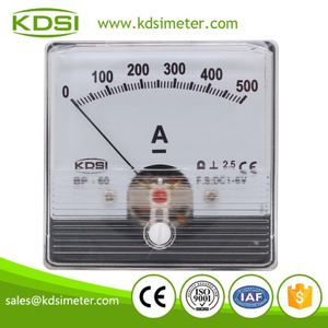 High quality professional BP-60N DC1-6V 500A analog panel dc volt ampere meter