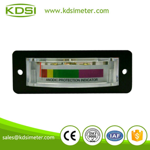 Thin edgewise meter BP-15 DC10V anodic protection indicator