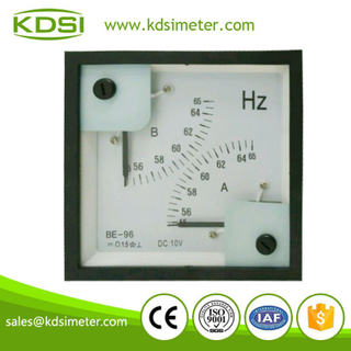 Portable precise BE-96 96 * 96 DC10V 55-65HZ voltage double display frequency meter