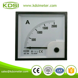 20 Years Manufacturing Experience BE-96 DC5V 2000A voltage ammeter