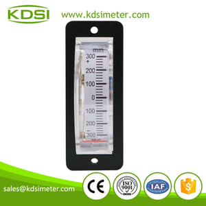 Easy installation BP-15 DC1mA +-300mm Vertical installation analog dc edgewise panel meter