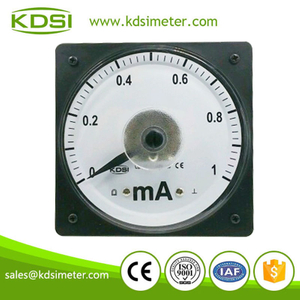 KDSI electronic apparatus LS-110 DC1mA analog current meter