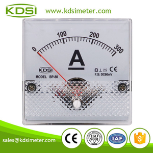 Factory direct sales BP-80 DC60mV 300A analog dc amp panel meter