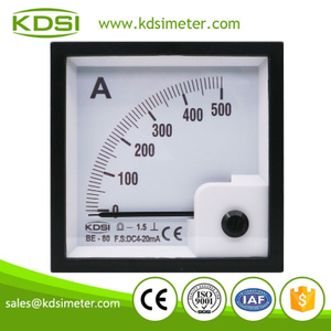 CE Approved BE-80 DC4-20mA 500A analog dc panel ampere controller