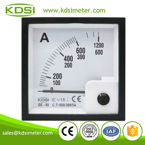 High quality BE-80 AC600/300/5A ac amp panel analog galvanometer