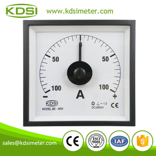 High quality professional BE-96W DC+-60mV +-100A portable current meter
