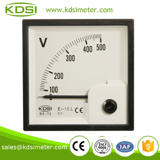 Easy operation BE-72 AC500V analog voltmeter