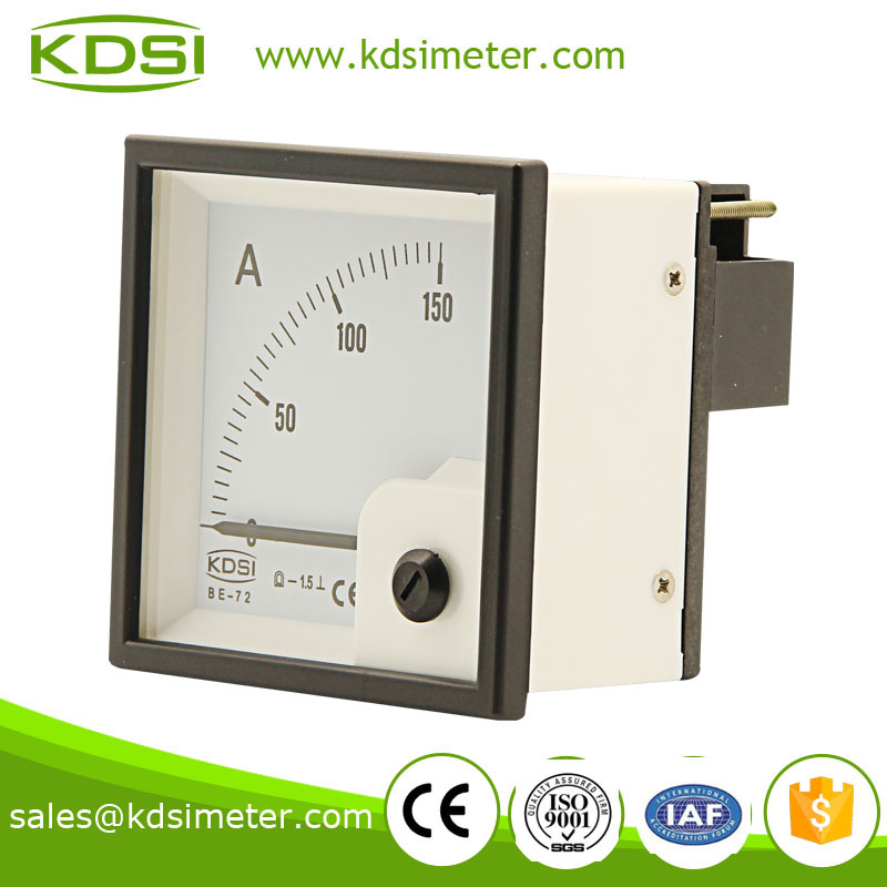 High quality BE-72 72*72 DC150A current meter