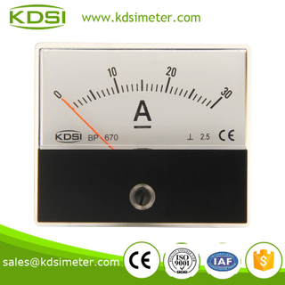KDSI electronic apparatus BP-670 DC30A battery ammeter