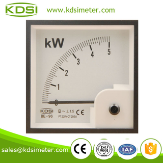 CE certificate BE-96 5KW 220V 25 / 5A ac power meter