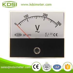 BP-670 AC Voltmeter AC300V high quality professional panel meter
