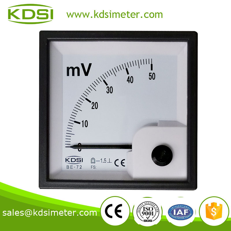 Industrial universal BE-72 72*72 DC50mV super-mini voltmeter