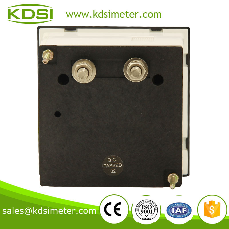 Mini Type panel meter BE-72 DC750V analog dc voltage meter