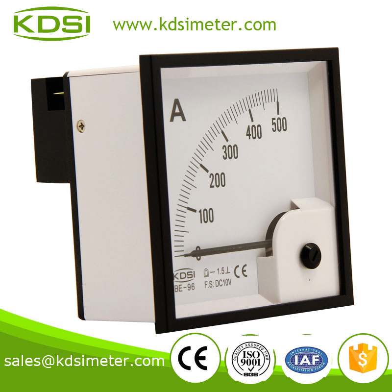 2016 new model BE-96 96*96 DC10V 500A high current meter