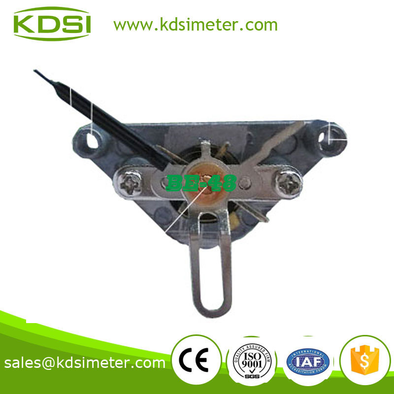 Ac meter movement for moving iron meter