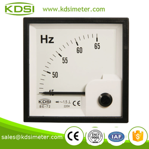 High quality BE-72 Frequency meter 220V 45-65HZ hertz indicator