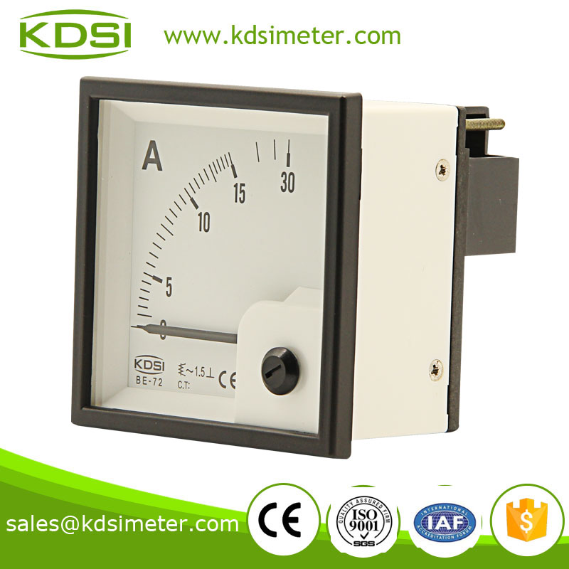 Taiwan technology BE-72 AC15A analog ammeter
